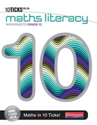 9780796227140 - 10 Ticks Maths Literacy Gr 10