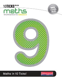 9780796227096 - 10 Ticks Mathematics Gr 9