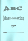 ABCMATH 8 - ABC of Mathematics Gr 8
