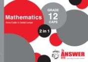 "9781920568689 - The Answer Series Mathematics ""2 in 1"" Gr 12"