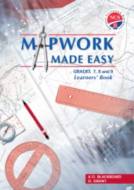 9780796210722 - Mapwork Made Easy Gr 7,8 & 9