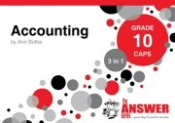 "9781920297879 - The Answer Series Accounting ""3 in1"" Gr 10"