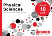 "9781920297831 - The Answer Series Physical Science ""3 in 1"" Gr 10"