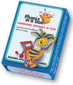 PHONICBLUE - Phonic Flashcards - Blue Box
