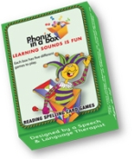 PHONICGREEN - Phonic Flashcards - Green Box