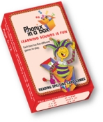 PHONICRED - Phonic Flashcards - Red Box