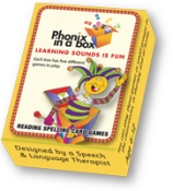 PHONICYELLOW - Phonic Flashcards - Yellow Box
