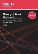9780857360007 - Trinity: Theory of Music Workbook Grade 1