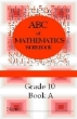 9781920505783 - ABC of Mathematics Grade 10 Workbooks (Set of 4)