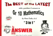 9781920053710 - The Answer Series Maths Gr 10  - 3 in 1 CAPS