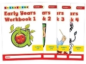 Letterland Early Years Workbook 1-4