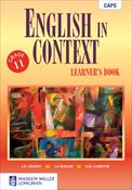 9780636135260 - English in Context Gr 11 Learner's Book
