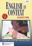 9780636140028 - English in Context Gr 12 Learner's Book