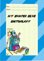 9781919775456 - My Bumper Blue Spelling Dictionary