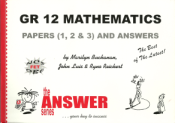 9781920053963 - The Answer Series Maths Gr 12 Papers1,2,3 IEB