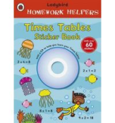 9781409305699 - Homework Helpers Times Tables Sticker Book with CD